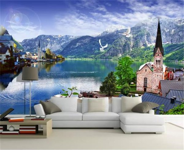 Country Ctyle Wallpaper Creates A Dreamy Austrian Style Beautiful Village Hd Wallpaper Decoration Interior Exquisite Best Love Wallpapers Mobile Phone