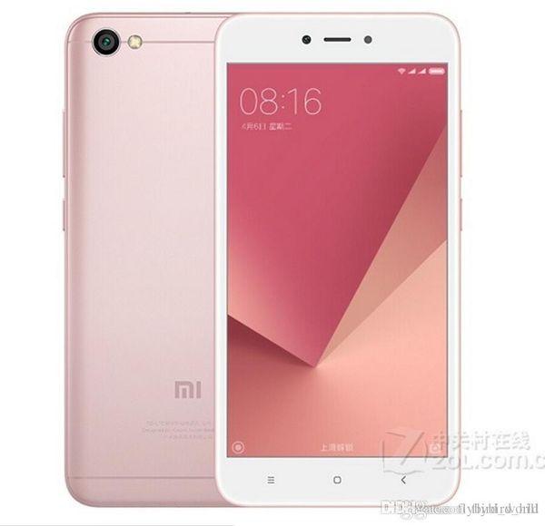 Xiaomi Redmi Note 5A 5 A 64GB 4GB RAM Mobile Phone Snapdragon 435 Octa Core 16MP Front Camera 5.5 inch Fingerprint MIUI 9