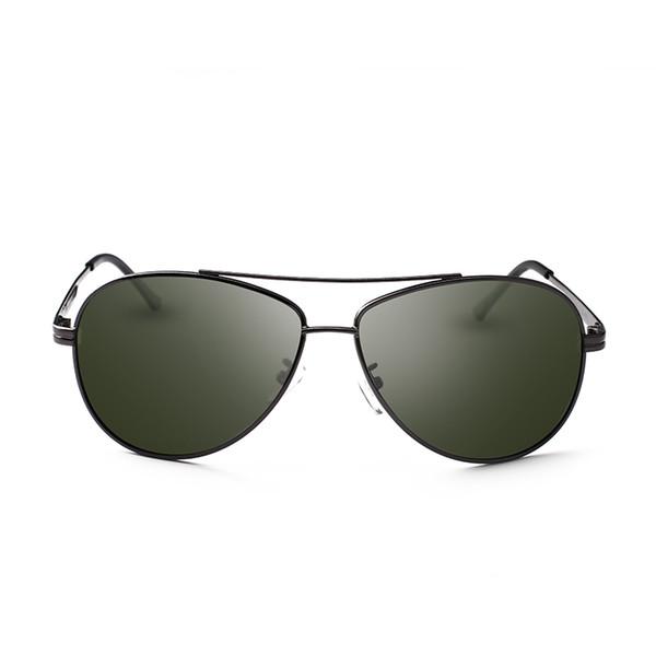 New nickel legierung pistole farbe sonnenbrille männer polarisierte linse pilot sonnenbrille gafas de sol mujer brille uva sonnenbrille frauen 8025y