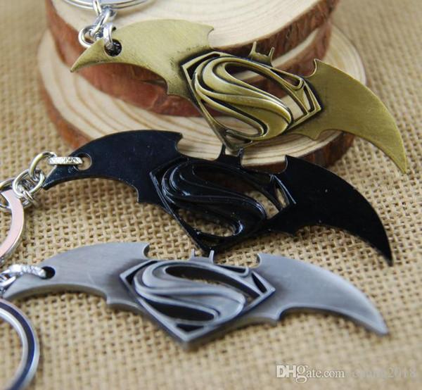 17 styles Avenger Union Batman keychains For Bag Key Holder Charm Hanging pendant Car Key Chains Key Ring Women & Men newv001