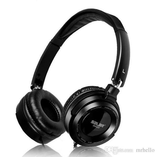 EM520 Cuffie stereo professionali per monitor Cuffie Hi-Fi Cuffie pieghevoli senza microfono Bassi Auricolari stereo a isolamento acustico