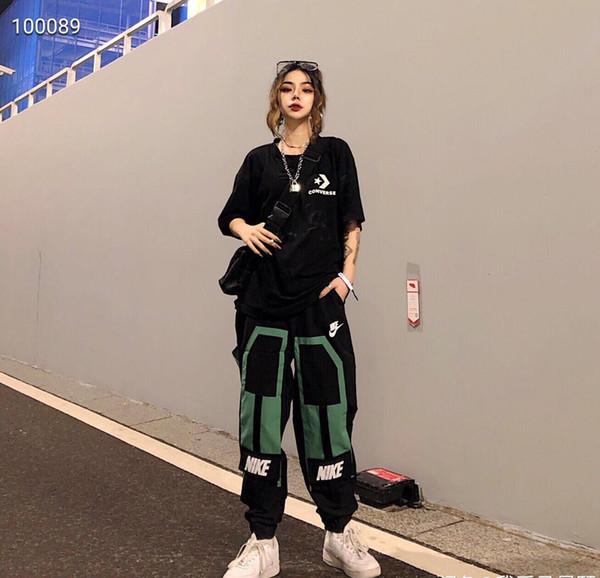 NK salopettes Pantalons Hommes Femmes Mode actifs Joggers Pantalons de haute qualité Sweatpants Réunissant plus d'une poche