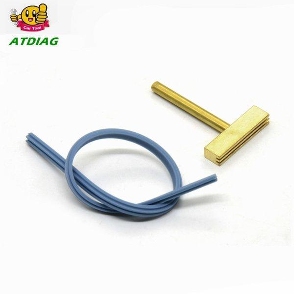Pixel Repair cable flexible 30w 60w 40W soldador de punta de hierro T de la cabeza, cable de goma T de cobre-Filtros + Hot Press para la pantalla LCD