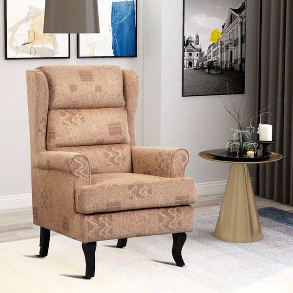 2019 High Back Modern And Classic Wing Back Living Room Accent Chair  Armchair Caviar Bedroom Single Chair From Greatfurnishing, $282.67 |  DHgate.Com