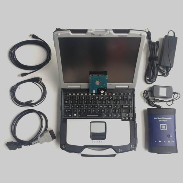 Neueste 2019 MDI für G-M wifi CF30 laptp HDD optional Mehrere Diagnoseschnittstelle mdi für g.m opel Diagnosewerkzeug Dhl-frei
