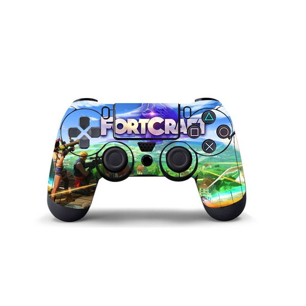 Accept Customization Fortnite Gamepad Sticker PVC For S0ny Ps4 Controller  Decal PS4 Gamepad Skin Cover For PS4 Joypad Protector Send Picture UK 2019