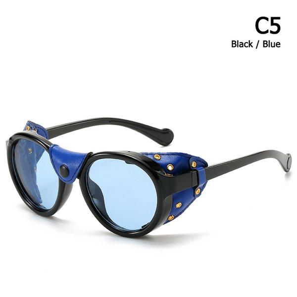 C5 Negro Azul