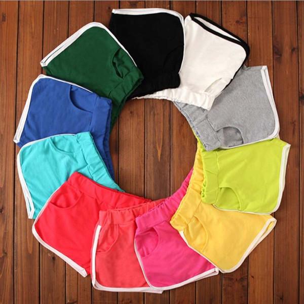 2019 Women Plus Size Pocket Loose Shorts Elastic Waist Streetwear Casual Drawstring Running Gym Sports Summer Yoga Shorts