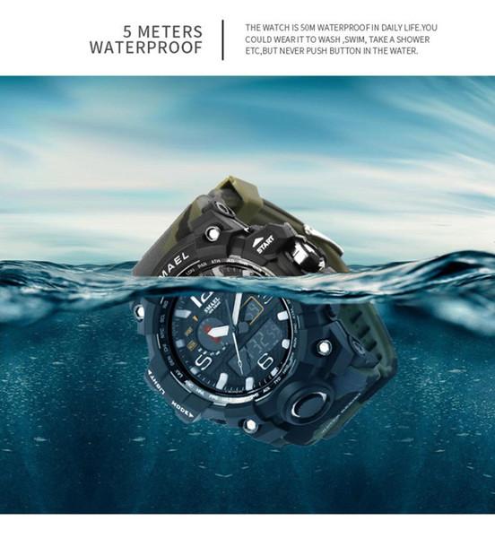 OTOKY Uhr Neue Heiße Modell LED Elektronische Uhr Männlichen und Weiblichen Studenten Silikon Casual Blei Armbanduhr Uhr 19April24