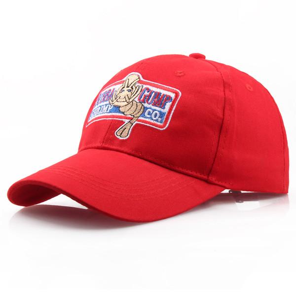 2019 Yeni BUBBA GUMP Kap SHRIMP CO Kamyon Beyzbol Şapkası unisex Snapback Kapaklar Şapka Forrest Gump Şapka açık spor şapka rahat kapaklar