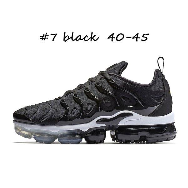 #7 black 40-45