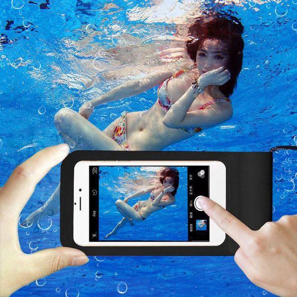 borsa impermeabile Borse da nuoto impermeabili Custodia subacquea Custodia per telefono Custodia galleggiante Custodia per cellulare