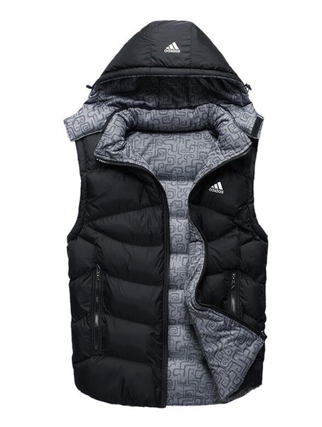 2020 XXLAdidas Vest Cotton Jacket Men Women Casual Cotton Coats Winter Jacket Mens Outdoor Warm Parkas Mens Winter Coats From Linjunbin828, $32.09 |