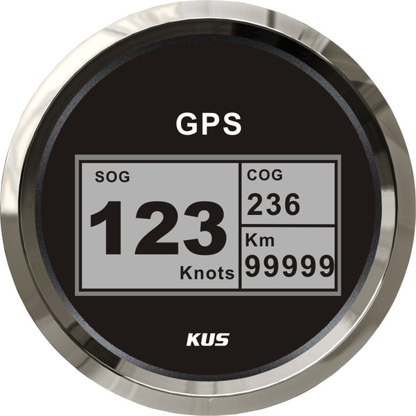 KUS Vessel Boat Yacht 85mm digitaler GPS Tachometer Kilometerzähler Garantie