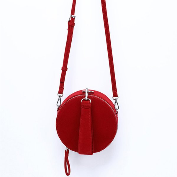 bc0770051 Casual Corduroy Small Round Bag Woman Messenger Bag Luxury Solid Color  Crossbody Bags Lady Designer Phone