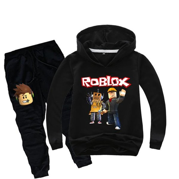 Roblox Childrens Hoodie Boys Or Girls Hoody Fit Add Your Gaming 2 Colour Logo