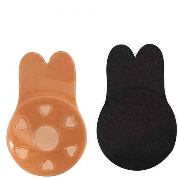Autoadesivo Push Up Bra Silicone invisível mamilo capa adesivos Underwear sem costura sutiã sem alças Pad OOA6409