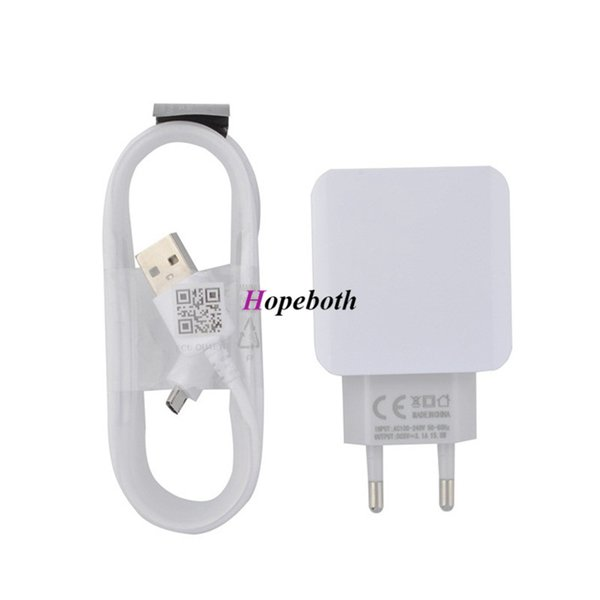 2.5A Real Eu US Ac home travel wall charger auto power adapter for samsung phone galaxy S5 s6 edge note 7 8