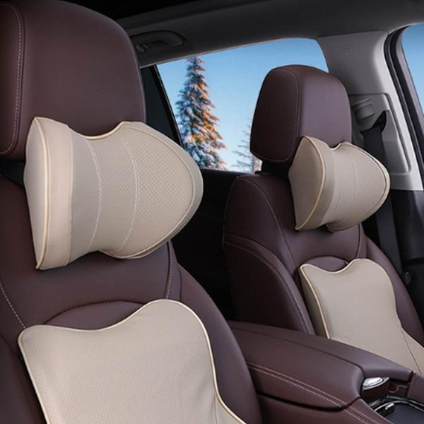 U Shape Memory Foam Car Headrest Pillow Seat Neck Cushion Nap Sleeper Support 1x