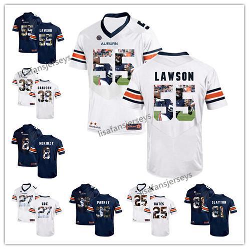 best website 9b5e4 89b8a 2019 Mens Auburn Tigers Jerseys 38 CARLSON 25 Daren Bates 81 Darius Slayton  55 Carl Lawson Player Printed College Football NCAA Jersey From ...