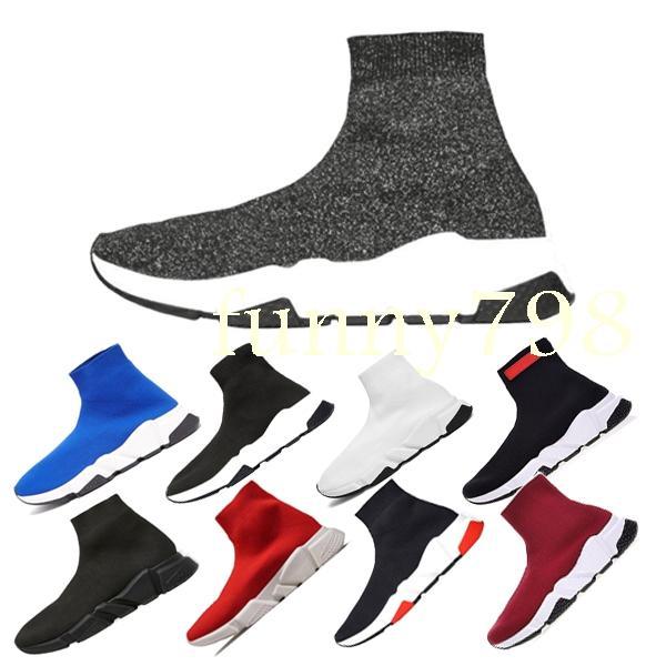 hochwertige luxus designer mode männer welle runner frauen casual sneaker socken männer chaussures scarpe zapatos hommes femmes speed trainer