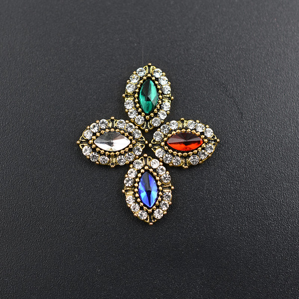 Monedas Decoraciones 10 unids / lote Nails de aleación Charm Crystal Diamonds Stone Strass Nail Art Decorations Jewelry Accessioires Rhinestones N ...