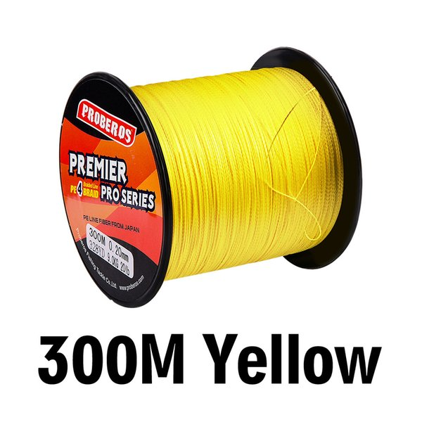 Super Strong Durable SeaKnight 300M Series Japan PE Spectra Braided Fishing Line 8-60LB