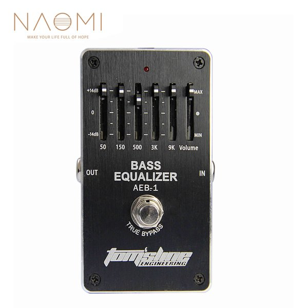 NAOMI Aroma Bass Effect Pedal AEB-1 Bass 5-band EQ Exclusive For Electric Bass Guitar Effect Pedal Guitar Parts Accessories New