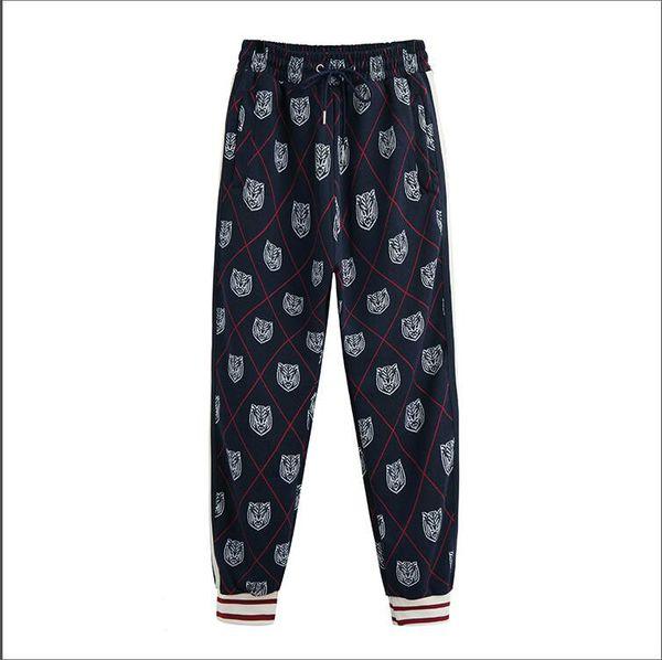 Avec Stretchy Luxe Tigre Mode De Marque Joggers De De Pantalon 2019 Jogging De Marque Homme Pantalon Survêtement Cordon Pantalon Designer Joggers De Motif x1wYqEn4