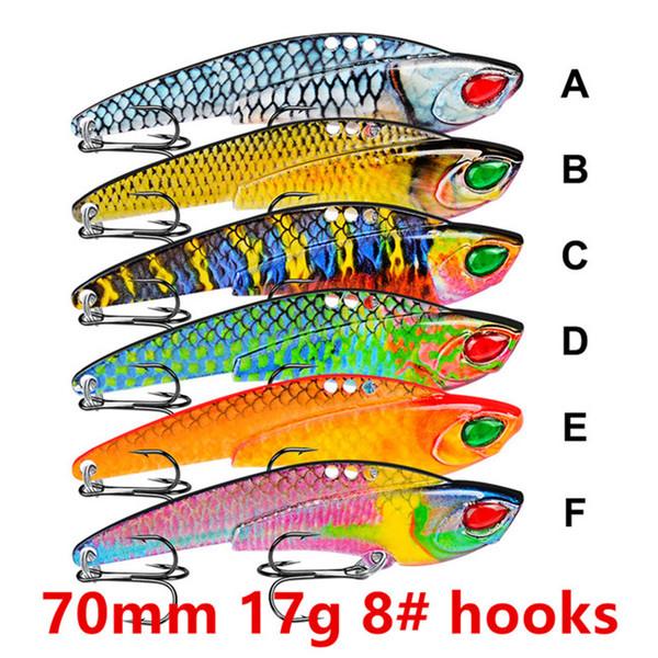 70mm 17g 8# hooks