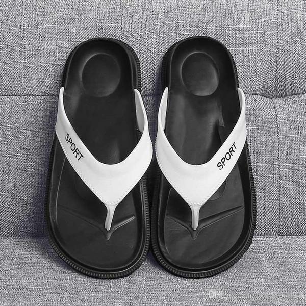 designer sandals brand new summer Men Flip-Flops Beach Slippers Shoes Fashion Breathable Beach Slippers EVA Casual Massage Slipper