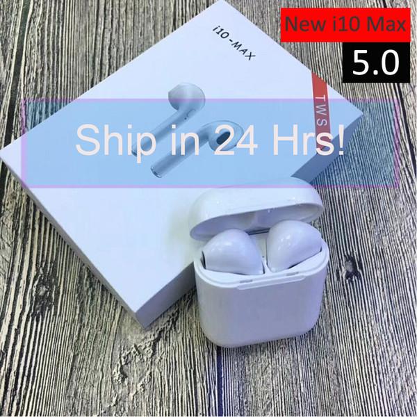 I10 max TWS Drahtlose Ohrhörer Bluetooth Kopfhörer Ohrhörer Kopfhörer Mini Mit Mikrofon Klein Und Exquisite Für iPhone X XS XR Für Samsung Note9