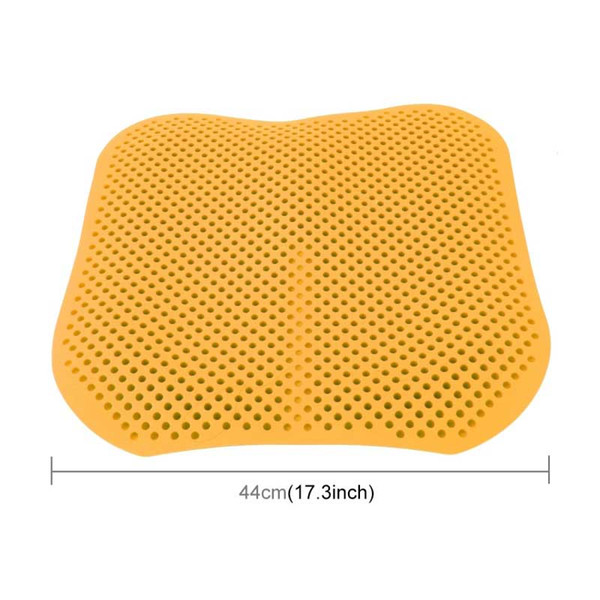 Car Seat Cushions Massage High Memory Silicone Breathable Mesh Silica Gel Auto Car Seat Covers