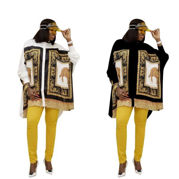 Womens Designer Shirt Dresses Robes De Luxe Imprimé Casual National Party Vêtements Designer Stand Col Léopard Motif Tops