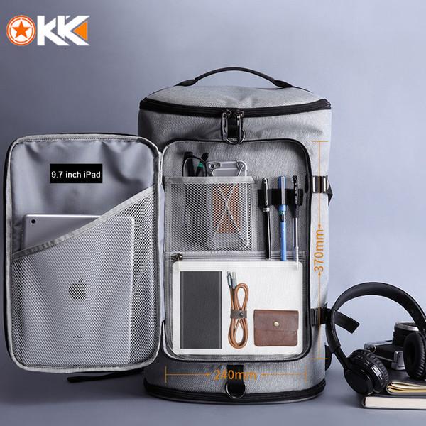 KAKA 40L мужчин рюкзак сумка для ноутбука 15,6 Обувь Рюкзак Путешествия Спорт Фитнес Сумки для женщин Подростков школы Bagpack Rucksack SH190918