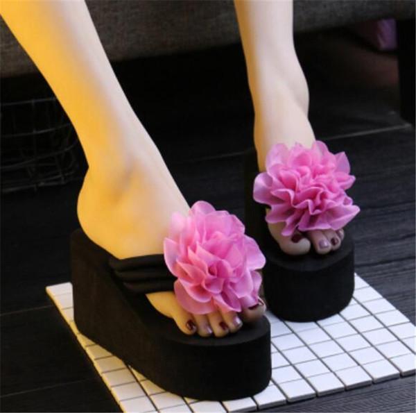 Fleurs rose noir 003