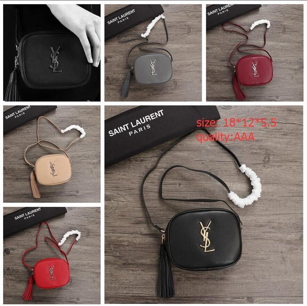 dc6065424b7 23-French designer high-end brand high quality YSL bags womens women  genuine leather