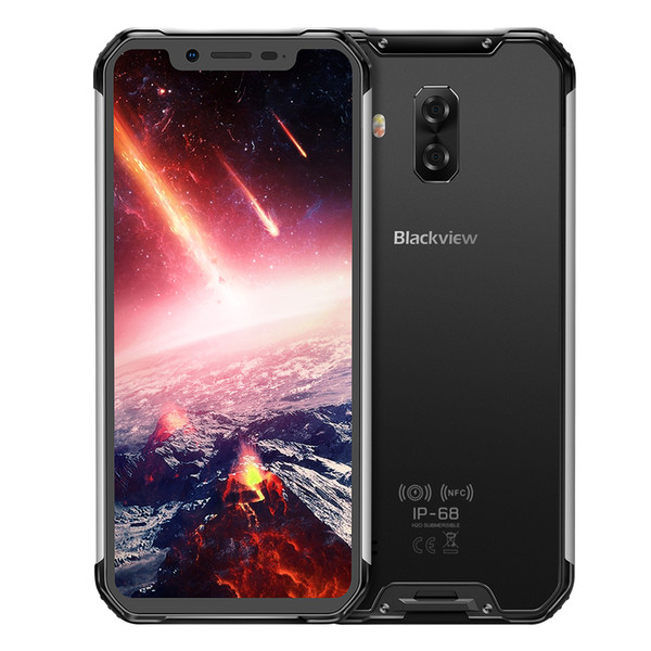 """6.21"""" AMOLED FHD+ Blackview BV9600 Pro 6GB 128GB 4G LTE Helio P60 NFC Face ID Fingerprint Wireless Charge 16MP Camera IP68 Rugged Smartphone"""