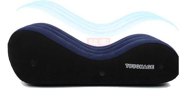 Toughage portatile gonfiabile cuscino di lusso sedia sesso per adulti letto adulto utile divano per il sesso adulto divertimento sesso mobili Pf3207 C19012201