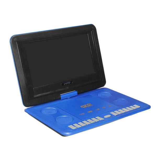 Mini Lecteur DVD 13.8Inch HD TV LCD portable Films mobile pivotant Usb rotation de l'écran pour la voiture Multi Media Video Game Play EU Plug dvd voiture