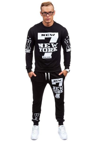 Men's Tracksuits Sport With Letters Printed Designer Sweat suits Long Sleeve Hoodies Pants Tracksuit Men Sportwear Clothing Hiking S-2XL