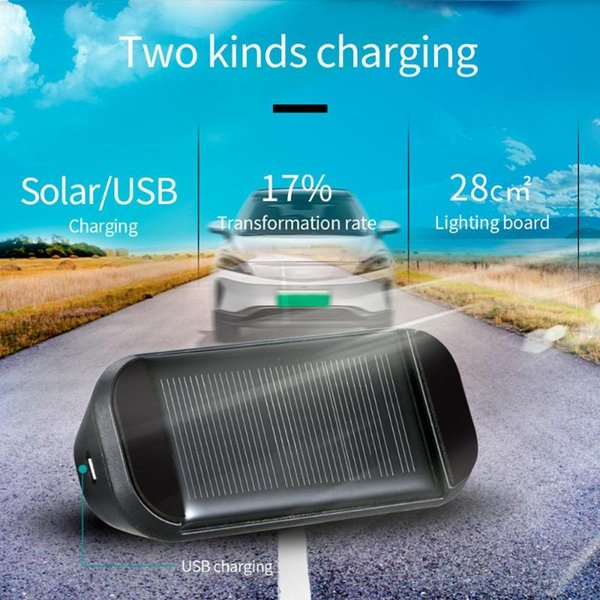 top popular CarTPMS Tyre Pressure Monitoring System Solar Charging Monitor 4 Tire Pressure Temperature in Real Time Wireless Transmission 2021