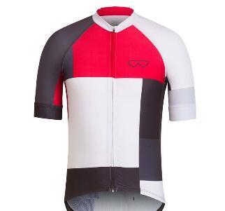 Männer Team Rapha Mountainbike Jersey Sommer Kurzarm Radtrikot Atmungsaktive Outdoor Sportbekleidung MTB Bike Kleidung