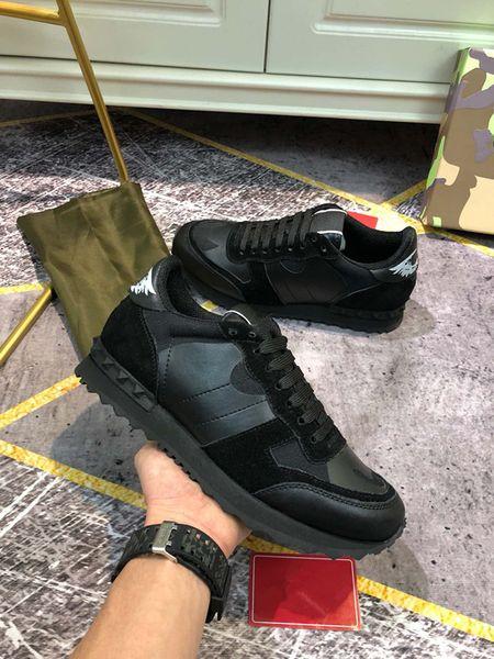 2021 Platform Men Women Party Shoes Reflective black white velvet tail metallic silver golden rainbow multi color real leather