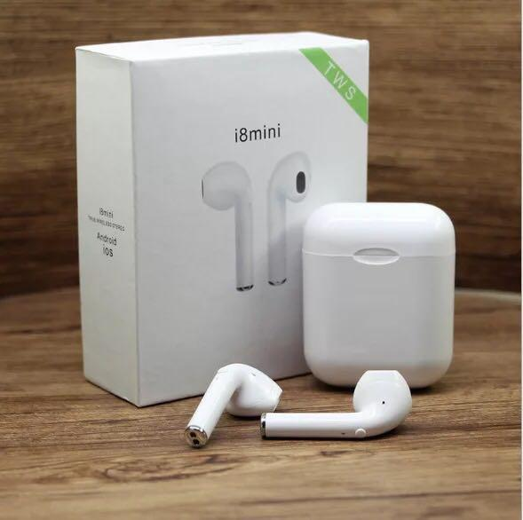 i8mini TWS Drahtlose kopfhörer stereo Bluetooth Air headset pods ohrhörer für xiaomi mi airdots meizu pop ep52 Auto Bluetooth Earphon