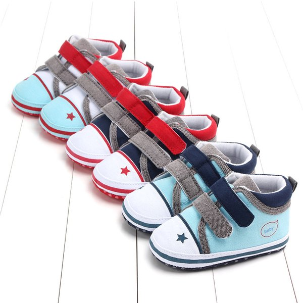 First Walkers Soft Soled Newborn Baby Shoes Girls Boy Non-slip Size 1 2 3 Baby Shoes Footwear for Autumn Spring Girls