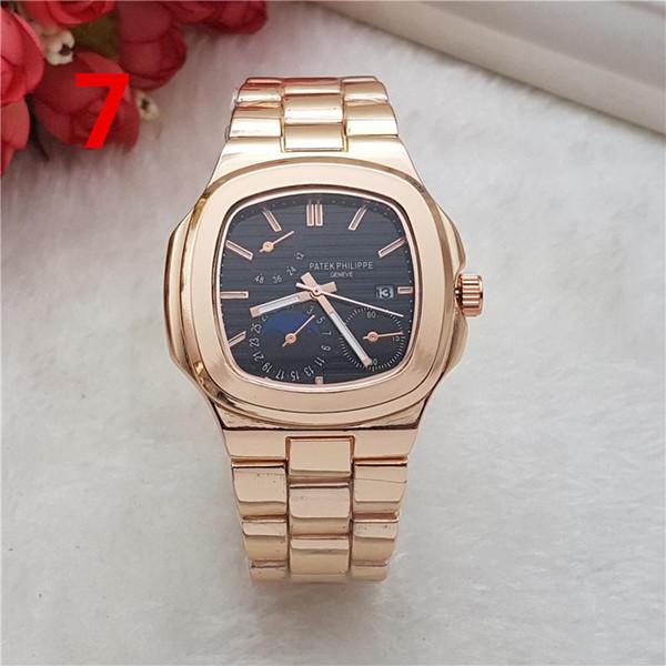 Homens Mulheres moda relógios de quartzo 72