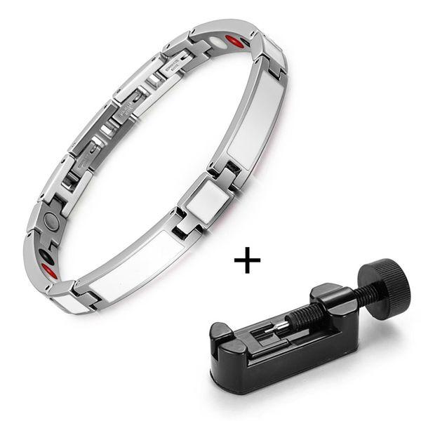 White bracelet tool