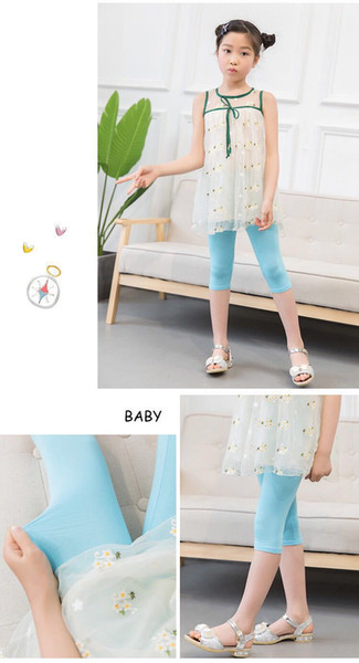Girls leggings girl pants new arrive Candy color Toddler classic Leggings big children trousers baby kids leggings 10 colors available W9568