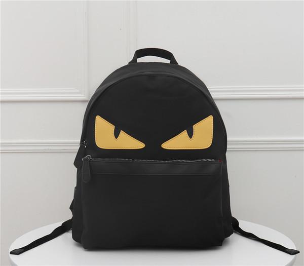 best selling 2020 high quality brand women's backpack Mini Backpack fashion atmosphere high grade classic black